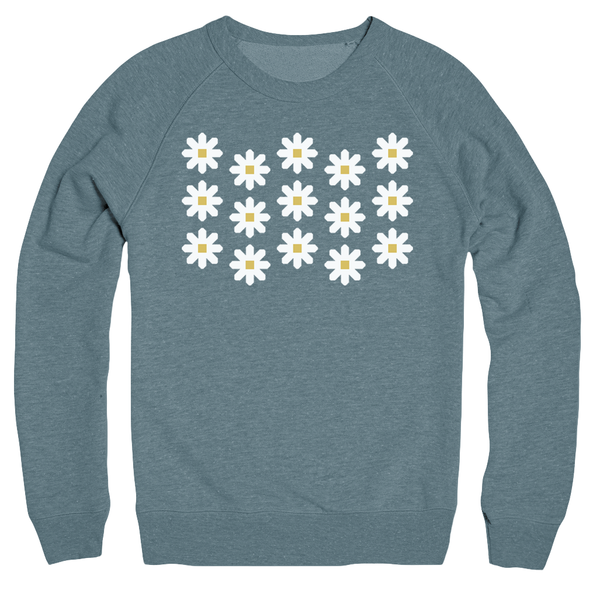 Fresh as a Daisy Quilt Sweatshirt
