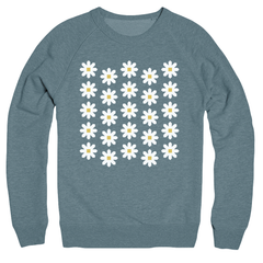 Fresh as a Daisy Full Quilt Sweatshirt