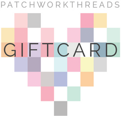 Patchwork Threads Gift Card