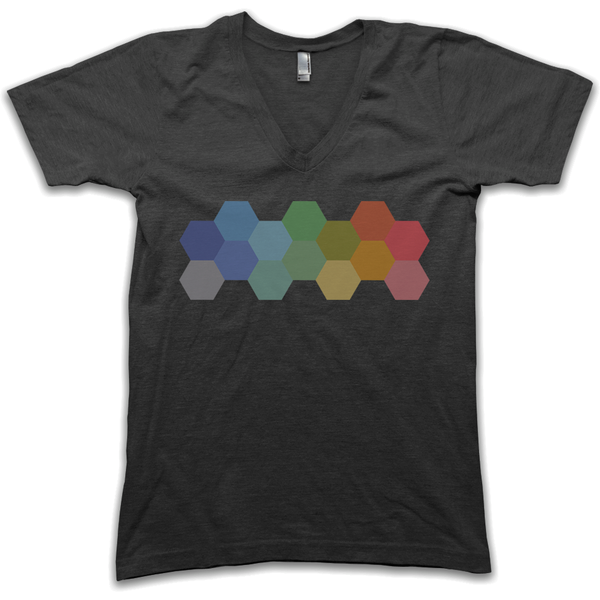 Hexies V-Neck