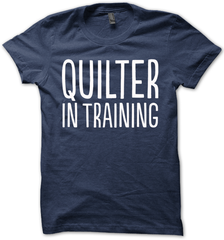 Kids Quilter in Training Tee