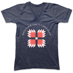 Quilting Isn't Canceled Tee