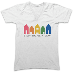 Stay Home + Sew Tee