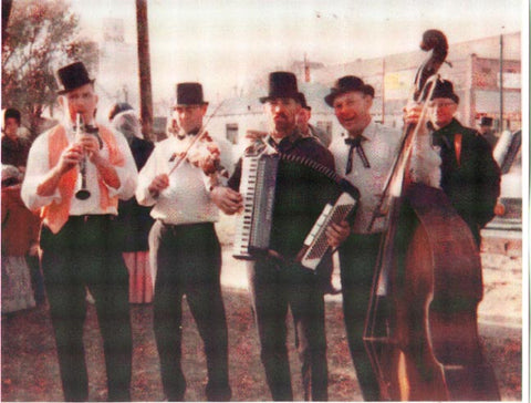 The Kava's at a Town Centennial in 1967