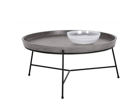 Pepper Coffee Table - Black - Grey