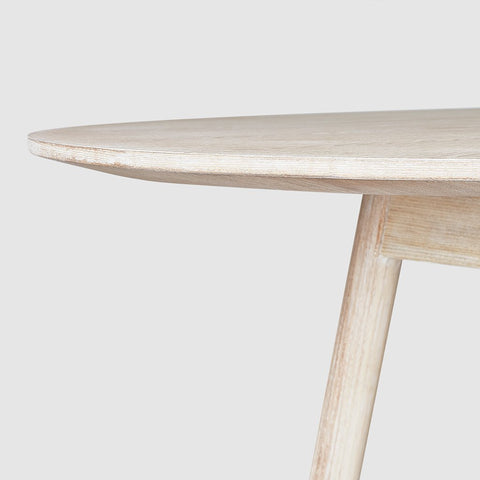 <span style='color:white'>011E</span> Bracket Dining Table - Round