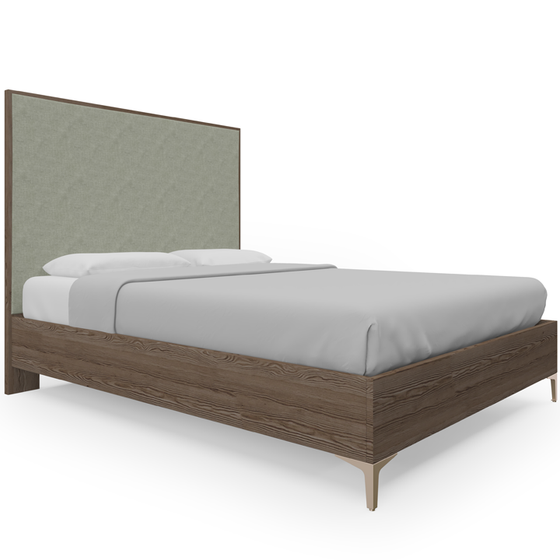 Downsview bed - Champagne Bronze