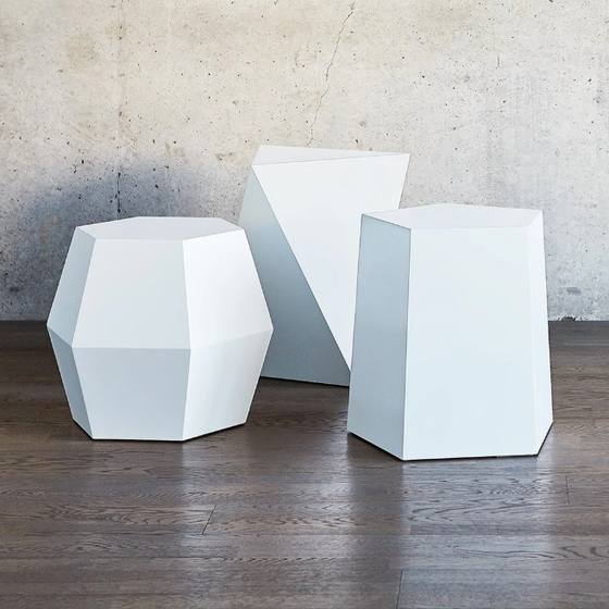 Facet-7 End Table