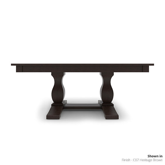 "Hampton - Table, 42"" x 74"", Double Base"