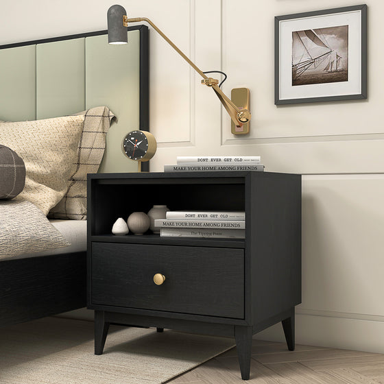 "Bedford 23""open 1 drawer night stand"