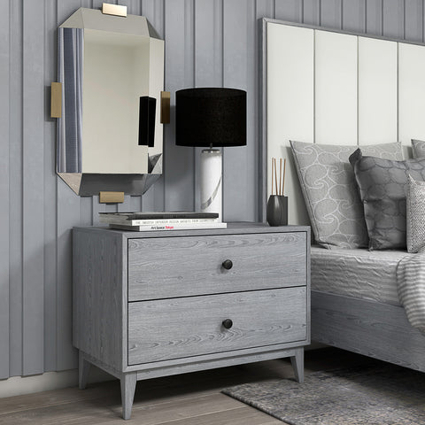 "Bedford 30"" 2 drawer night stand"