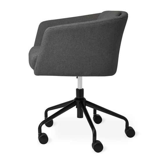 Radius Task Office Chair in Bayview Silver
