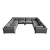 Silverlake U-Shaped Sectional