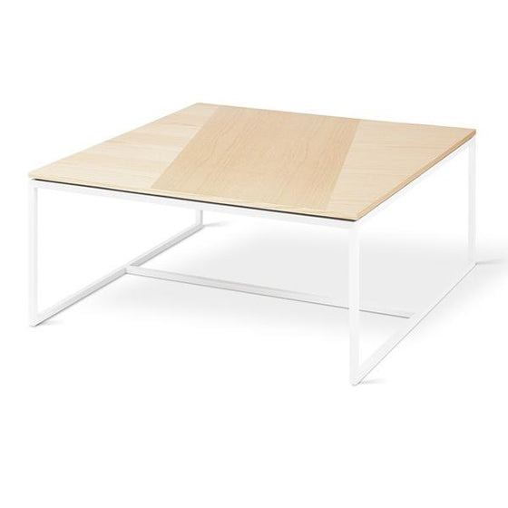 Tobias Coffee Walnut Table - Square