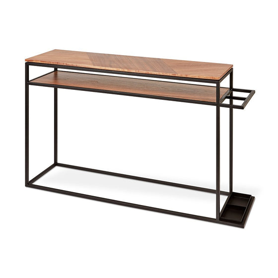 Tobias Console Table Walnut *NEW