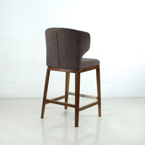 CABO FABRIC Wood Stool