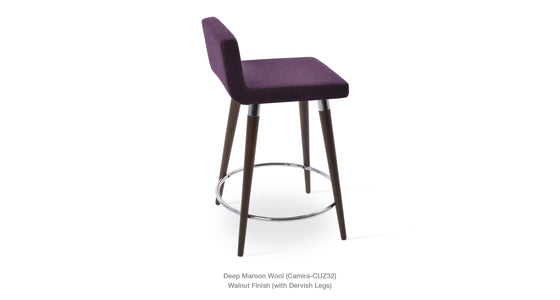 Dallas DR Wood Stool