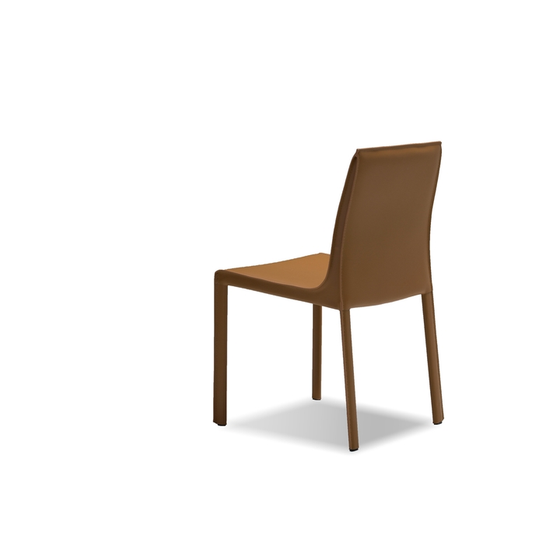 Kay leather dining chair