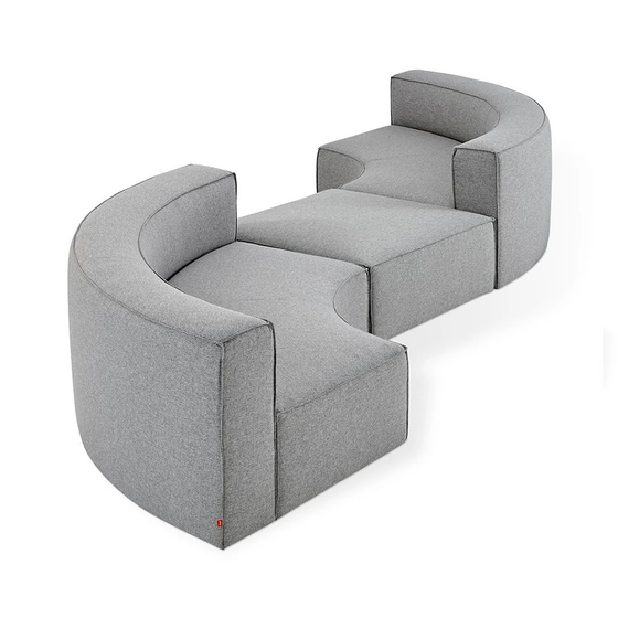 Mix Modular Sectional 3 piece seat group A