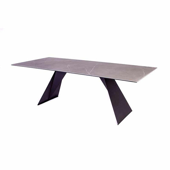 Hugo Ceramic Pietra Dining Table
