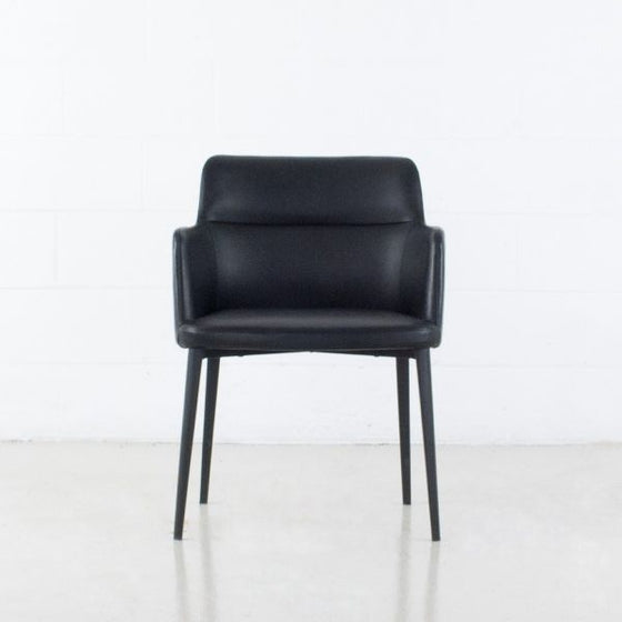 Williamsburg Leather Arm Chair