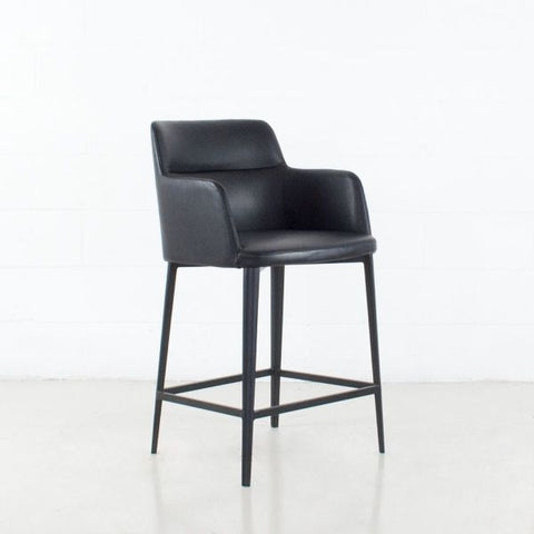 WILLIAMSBURG Leatherette Stool
