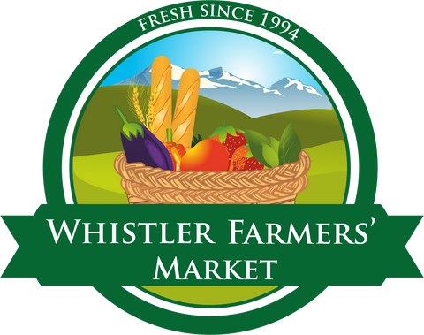 The Whistler Farmers Market runs every Sunday from May 21 - Thanksgiving. 11-4pm