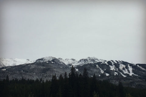 Blackcomb Mountain Early Snowfall