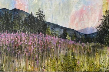 Fireweed at Dusk