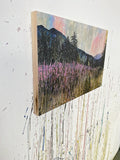 Fireweed At Dusk Art Print on Wood 12