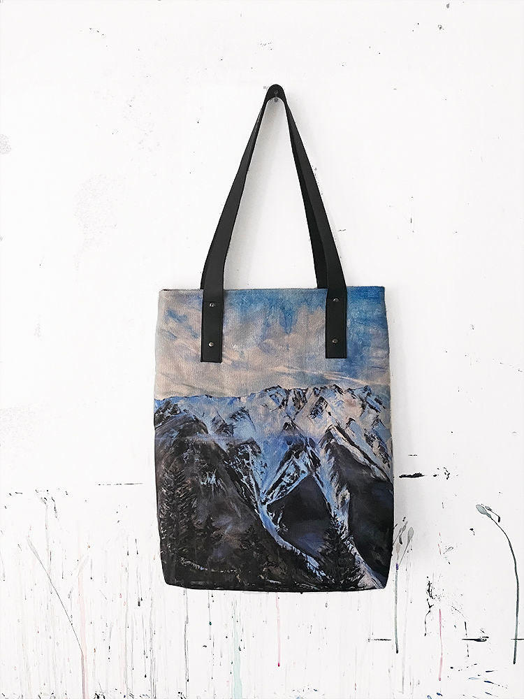 Mount Currie Tote Bag
