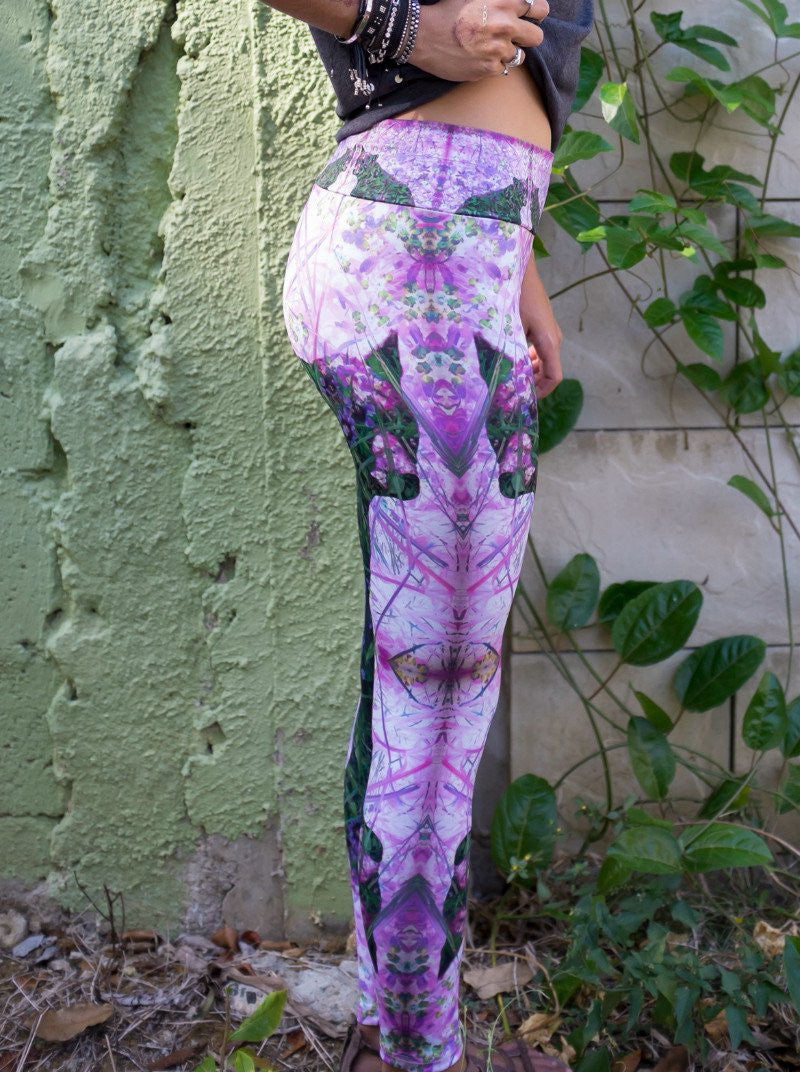 Floral Bear Long Legging