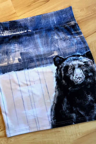 The Bear That is There Pencil Skirt