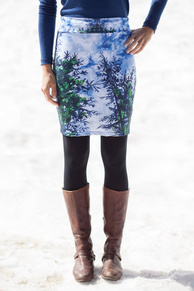 Evergreen Pencil Skirt