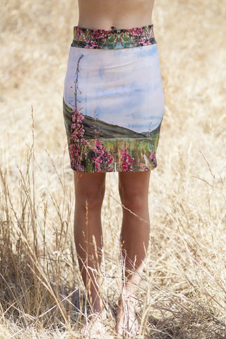 Fireweed Pencil Skirt