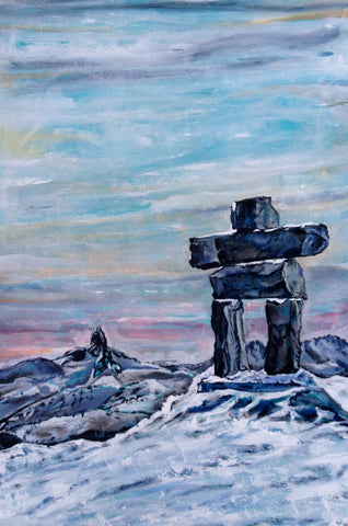 Inukshuk and Black Tusk