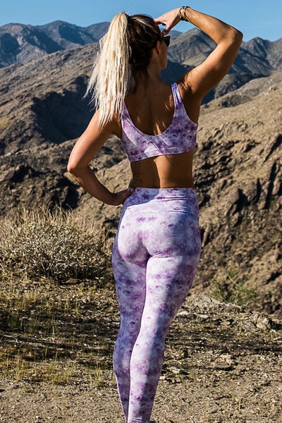 La-La-Lavender Long Legging - Bikini Empire + Heidi Collab