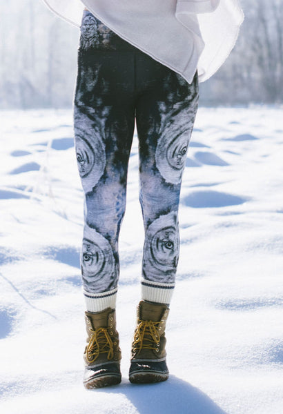 Hidden Owl Long Legging