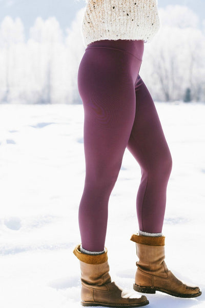 Eggplant Long Legging