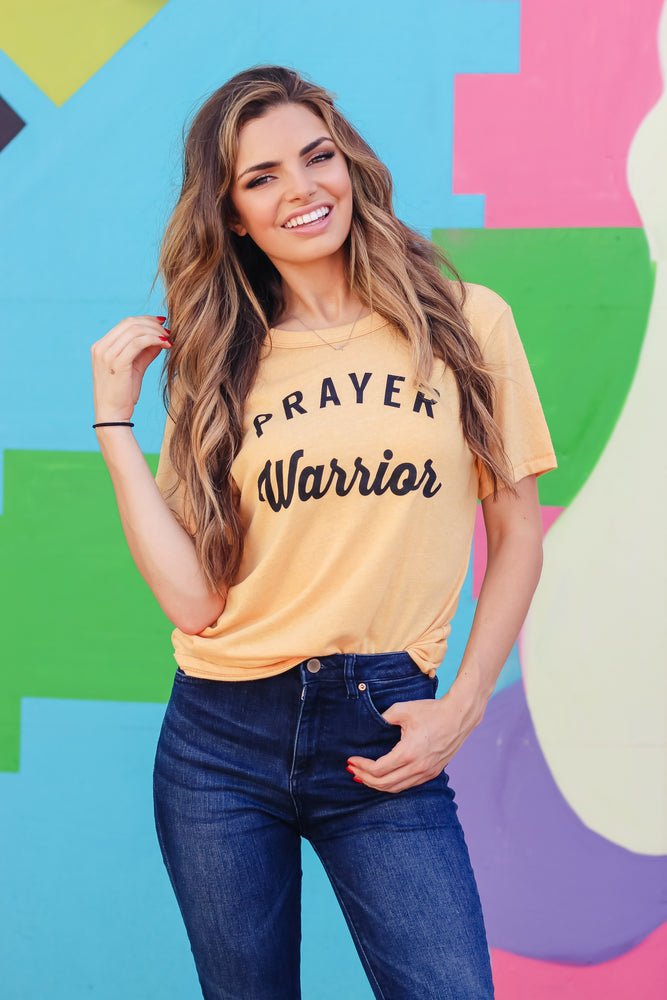 Prayer Warrior Vintage Tee