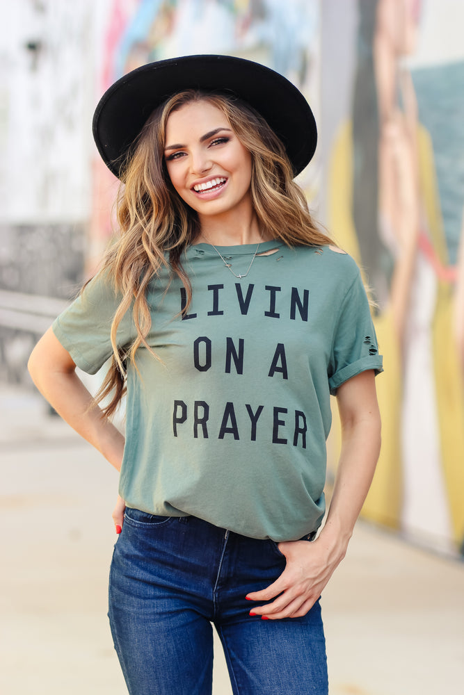 Livin On A Prayer Tee