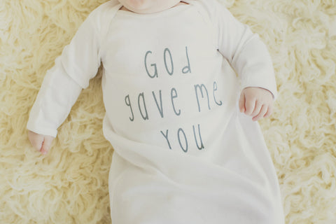 Handle With Prayer Onesie