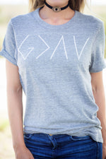 God is Greater Than Womens Tee