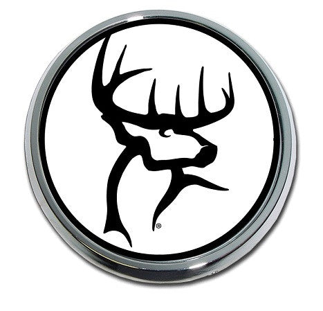 Buck Commander (B&W Circle) Emblem