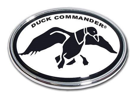 Duck Commander B&W Oval