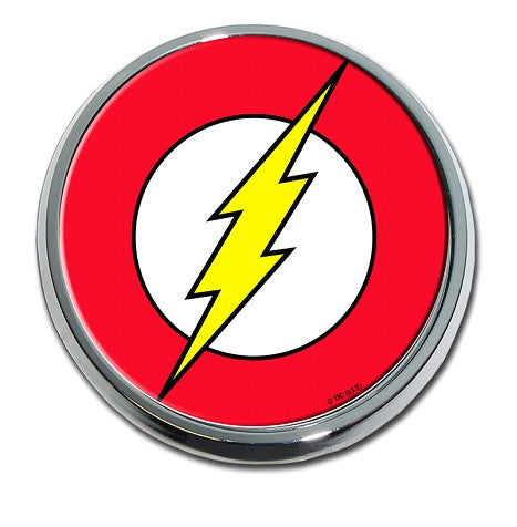Flash (Seal) Chrome Auto Emblem
