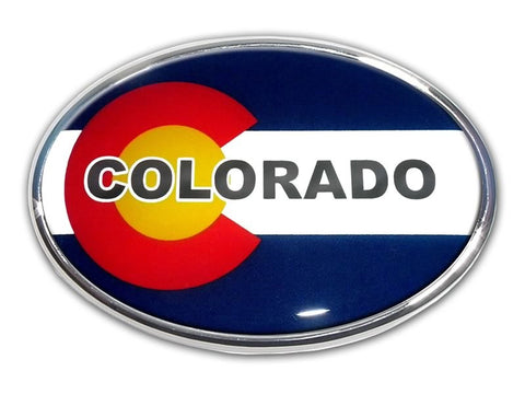 Colorado Chrome Auto Emblem
