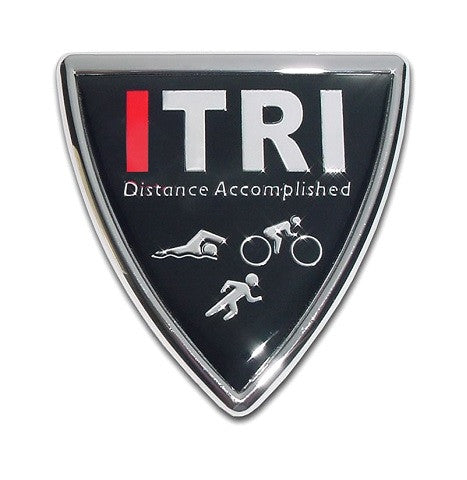 ITRI Chrome Auto Emblem (Shield)
