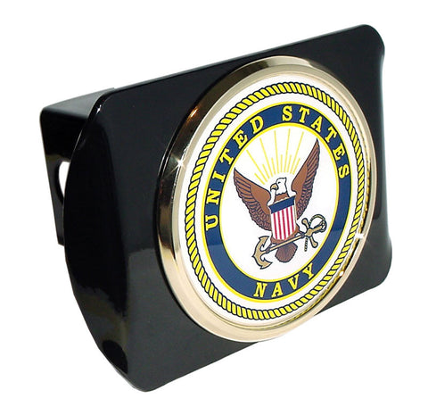US Navy Black Hitch Cover