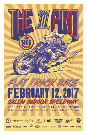 The 1 Pro Flat-track Races